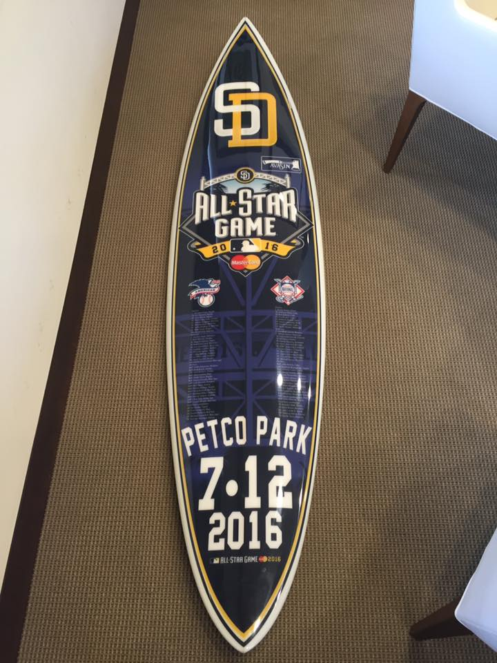 padres surfboard