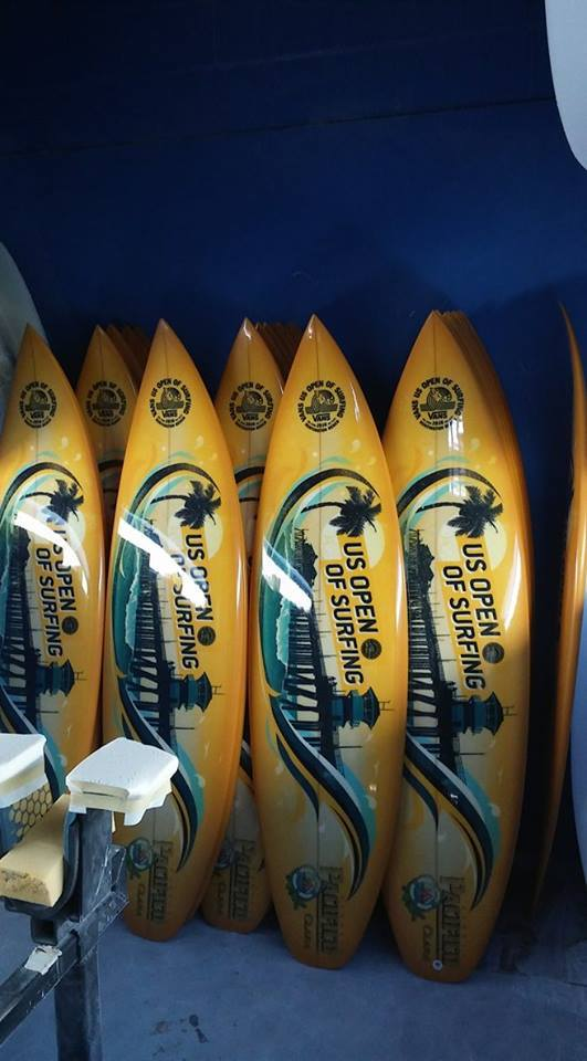 us open of surfing surfboards